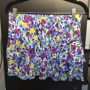 Express cotton skirt